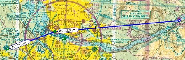 SkyVector Flight Planning Feature